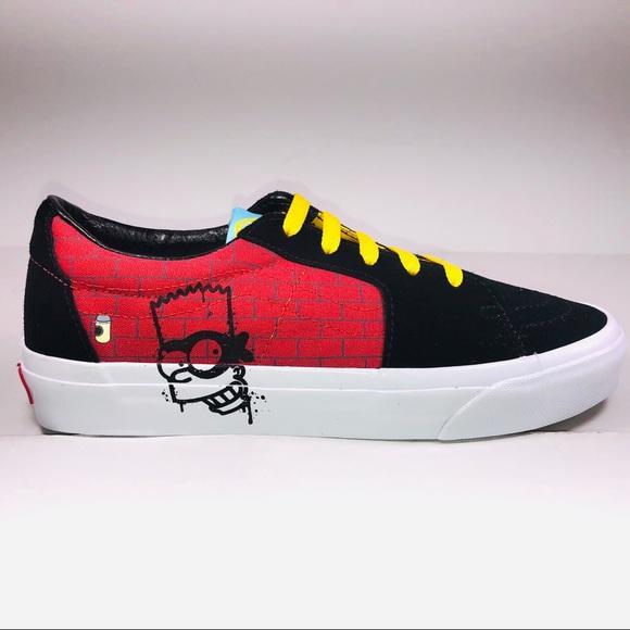 VANS SK8 Low The Simpsons El Barto Multicolor Shoe